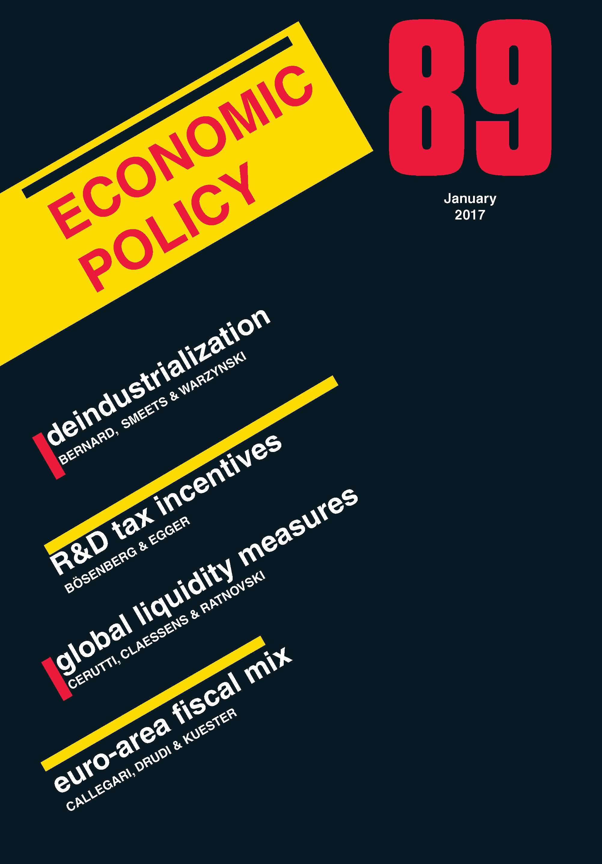 economic policy web essays latest issue
